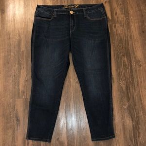 """Seven7 Luxe """"Legging"""" Jeans size 18"""